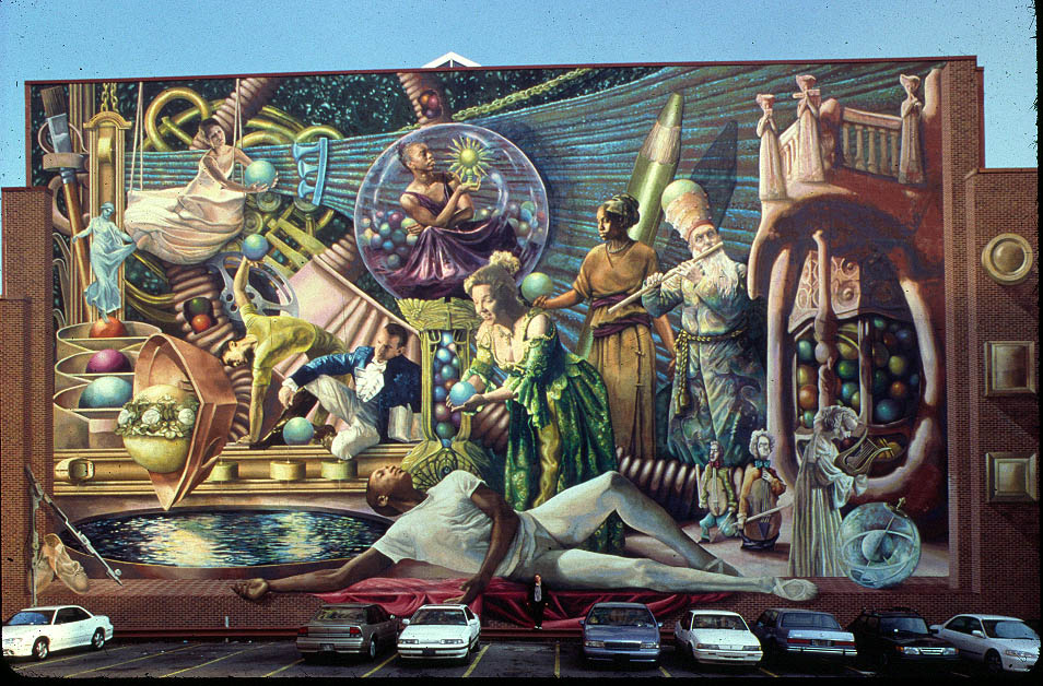 Blog for City of philadelphia mural arts program
